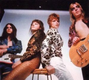David Bowie And The Spiders Form Mars